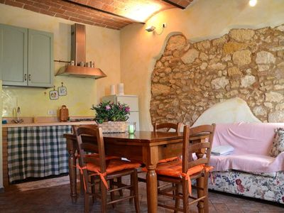 Photo for Tuscany sun. Apartment/ flat - BibbonaHouse with character