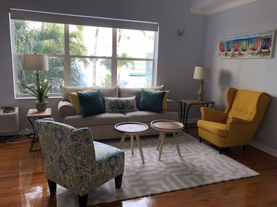 Photo for LOCATION, LOCATION! Great beach condo in the heart of Hollywood Beach Boardwalk.