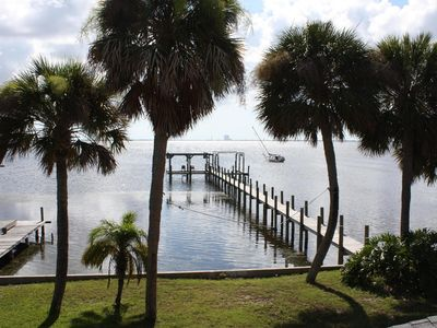 Photo for Quiet retreat on the Indian River with private boat dock