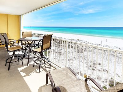 Photo for Gulf Dunes, 5th Floor Direct Ocean View, Okaloosa Island, Beach Service - gd413