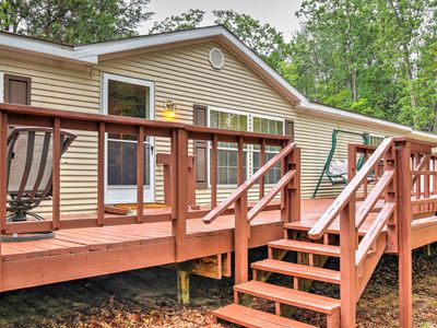 Photo for Cozy Atlanta Cottage w/Outdoor Deck by ATV Trails!
