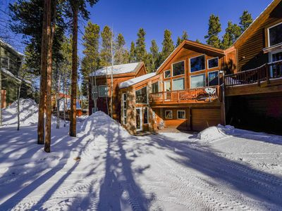 Photo for Beautiful, Ski-in Ski-out Home. Steps to Hike/Bike Trails and Shuttle. Hot Tub
