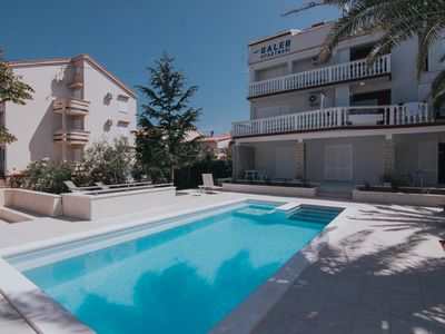 Photo for Studio with Pool in City center with Garden wiev