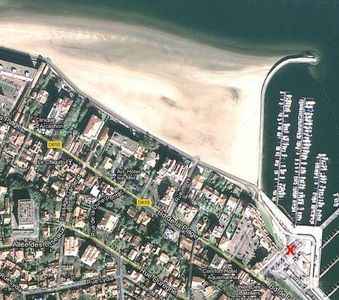 Photo for Two-bedroom apartment at Arcachon-France right by the beach and marina