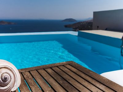 Photo for Villa Agnantia Leros Island  MHTE1468K92000406201