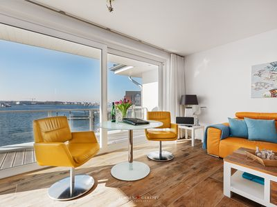 Photo for Stylish loft with roof terrace and uninterrupted views of the Baltic Sea / Schlei