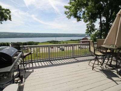 Photo for Family & Dog Friendly home! Seneca Lake Views : 3-Bed, 2-Bath on Wine Trail!!