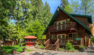 Photo for PNW Cabin: Very clean cabin with hot tub! Well equip'd kitchen - 3 bed/2 bath