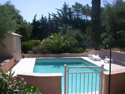 Photo for Apartment in villa with pool - Fréjus Saint Aygulf neighborhood