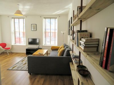 Photo for Engine Alley Apt 1, City centre, Bright, Spacious and Modern