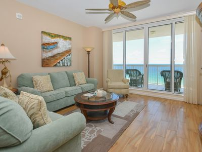 Photo for Beach-Front Condo: Balcony Access from Both Bedrooms! FREE Beach Service!😎👓