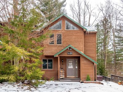 Photo for Quiet Snow - Fireplace, Hot Tub, Gas Grill, Short Drive to two State Parks and two Ski Areas