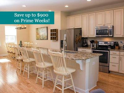 Photo for Broad Marsh 113C - Rare 5-Bedroom Townhome!