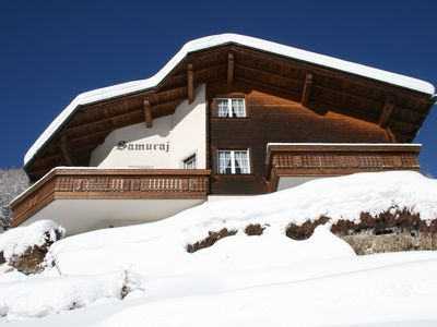 Photo for Spacious, sunny chalet with amazing views, close to slopes and village centre