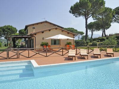 Photo for Luxury Villa with Private Pool and Tennis in Rome Countryside - Villa Laurentia