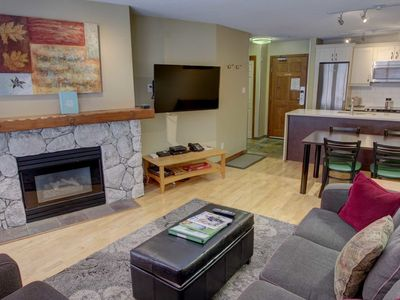 Photo for Prime Ski-in Ski-out Location! Pool, Hot tubs, BBQ, sleeps 4 (205)