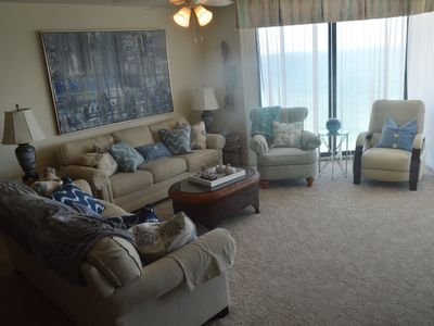 Photo for One Ocean Place 3 Bedroom, 3 bath, Ocean Front Condo.