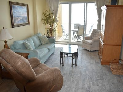 Photo for #504 - Beautiful Gulf Front 5th floor/2BD 2BA/Large Balcony/Keyless Entry