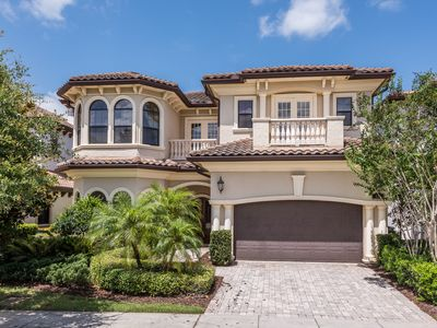 Photo for Luxury Custom Built 5 Bedroom. West Facing Back Yard with Golf View!