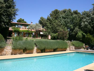Photo for Provencal farmhouse 9 km from the sea