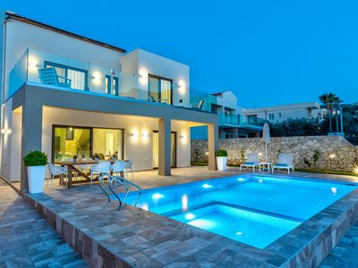 Photo for newly constructed peacful villa 100 metres from a beautiful sandy beac