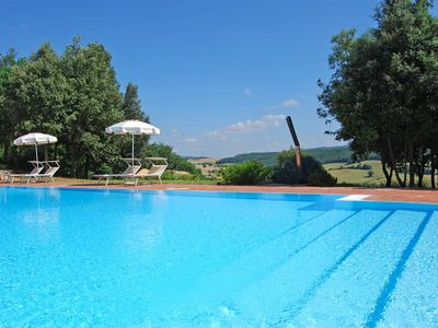 Photo for Superb holiday home with private terrace, panoramic swimming pool and wi-fi wi-fi