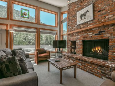 Photo for Keystone Bristlecone Home is Secluded and Dog Friendly(ONE ONLY) w/ Large Deck, Mountain Views! Short shuttle ride to Slopes
