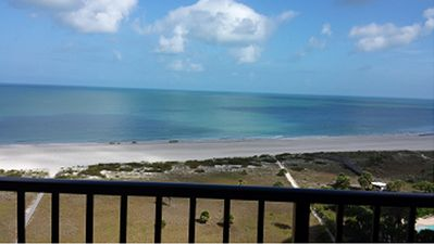 Photo for Beachfront Oasis with Amazing Views Clearwater Beach