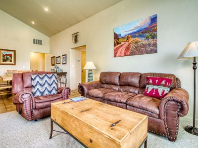 Photo for Rim Village townhome w/shared pool & hot tub near Arches Nat'l Park- dogs ok!