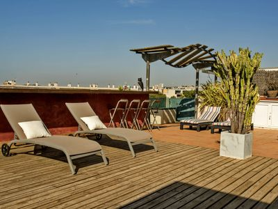 Photo for Los Condes - Sitges Terrace SEA VIEW and Parking