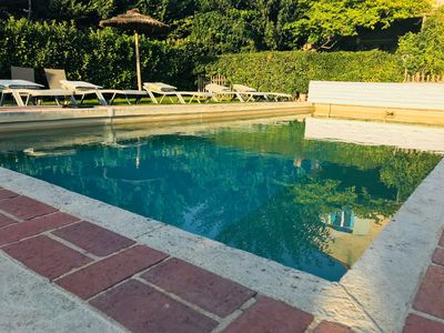 Photo for BAMBOUS ACANTHES & PROVENCE Gîtes of 40 M2, swimming pool, WIFI, in SAINT REMY DE PROVENCE
