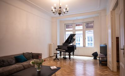 Photo for Classic Budapest Apartment in the heart of the city.