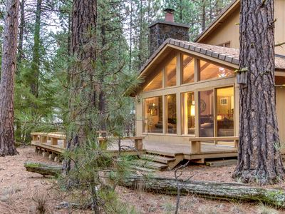 Photo for Family-friendly cabin w/ shared hot tub & pool! Half-mile to Glaze Meadow!
