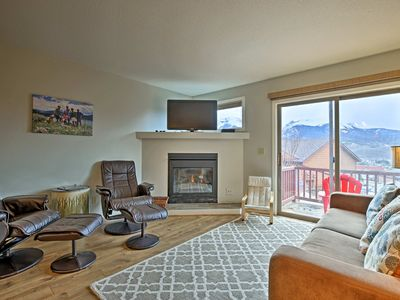 Photo for NEW! Dillon Townhome w/Mountain Views-Near Skiing!