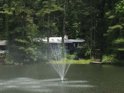 Photo for Waterfront Home in Hendersonville w/ Deck, Dock & Pool- Steps to Lake