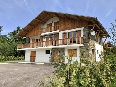 Photo for Beautiful Chalet Apartment 1 with Covered Parking and Wifi