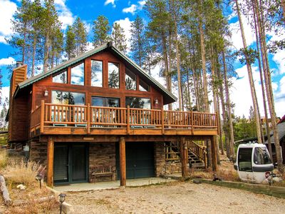 Photo for Lake Escape Chalet - Brand new with a beautiful view! Sleeps 10