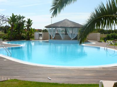 Photo for 5*Beautiful PENTHOUSE, FREE PRIVATE WIFI & SKY TV, 2 Pools and Golf Course view