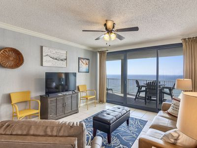 Photo for Beach Front with gorgeous kitchen and direct views of Gulf of Mexico | My Beach Getaways