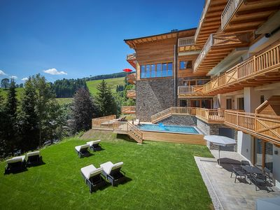 Photo for modern apartment on 4 * level, 2-4 people, right on the ski slope,