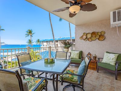 Photo for Stunning Kona Reef Full Ocean View - No Stairs/ Full AC / Free WiF