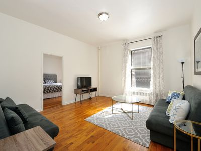 Photo for Upper West 1 Bed 1 Bath - KING BED - 2 Sleep Sofas - Musem and CENTRAL PARK