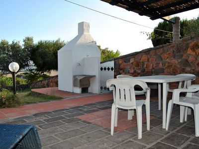 Photo for Two adjoining apartments sleeps 8/10, veranda, barbecue and olive garden