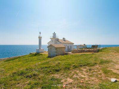 Photo for Beautiful lighthouse with magnificent sea view