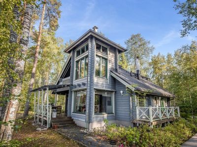 Photo for Vacation home Villa populus in Pertunmaa - 5 persons, 2 bedrooms