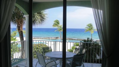 Photo for YOU'VE Arrived! Beachfront 3BR condo w/ Pool-Relax... North Side near Rum Point
