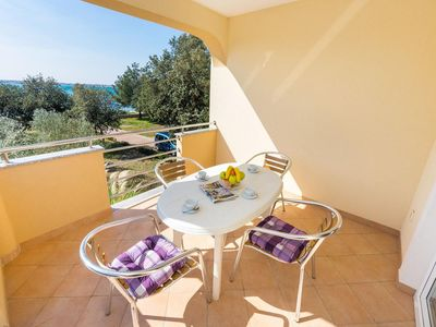 Photo for Two bedroom apartment near beach Vrsi - Mulo (Zadar)