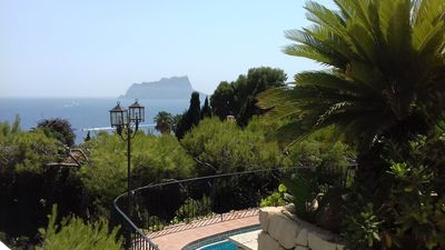 Photo for Front Sea Luxury Villa in Moraira. 100 m from the sea. 300m of beach Cap Blanc