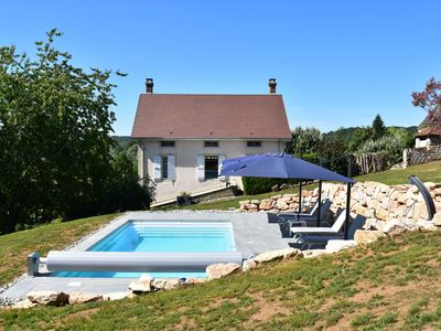 Photo for Beautifully located holiday home with private (heated) swimming pool and gorgeous view