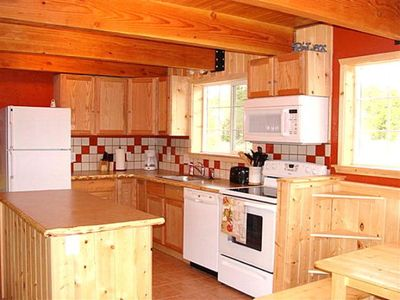 Beautiful kitchen with microwave and dishwasher!
